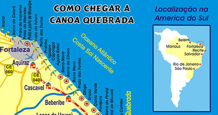 How to get to Canoa Quebrada